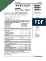 MOC3041,MOC3042,MOC3043 - Zero-cross Optotriac