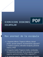 Ejercicios Diskinesia Escapular