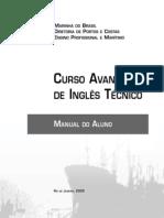 CURSO AVANÇADO DE INGLÊS TÉCNICO MARITIMO