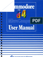 C64 User Manual 1984 2nd Edition
