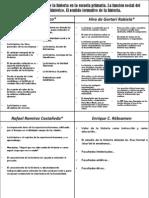 Cuadro Comparativo Sobre La Importancia de La Histoia en La Escuelas Prinarias