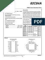 Datasheet 82C84