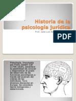 HISTORIA DE LA PSICOLOGÍA JURÍDICA