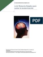 3 Ejercicios de Memoria simples para aumentar tu memorización.pdf