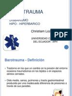 Barotrauma - Christiam Lozada V
