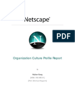 Netscape - OrG Culture Report