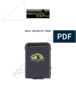 Manual Gsm - Gprs - Gps Traker