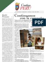 Boletín 0007, Contigo Perú; Navarra, España