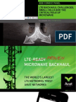 LTE Backhaul Challenges, Small Cells and the Critical Role of Microwave