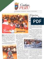 Boletín 0002, Contigo Perú; Navarra, España