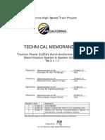 TM 3.1.1.1 2x25kV Autotransformer System R2 100331 A