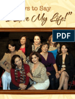 """8 Ways to Say """"I Love My Life!"""" edited by Sylvia Mendoza with a foreword by Vikki Carr"""