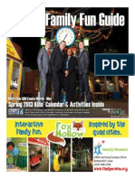 KWQC Spring 2013 Family Fun Guide - Published by the River Cities' Reader