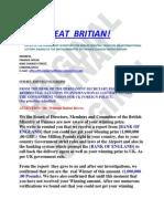 British Ministry of Finance