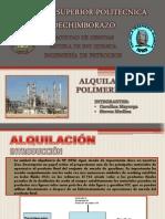 PRESENTACIÓN ALQUILACIÓN Y POLIMERIZACIÓN