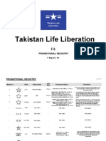Takistan Life Liberation - Promotion Registry