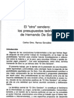 El Otro Sendero de Hernando de Soto