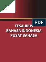 Depdiknas - Tesaurus Bahasa Indonesia