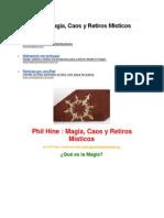 Phil HineMagia, Caos y Retiros Místicos.docx