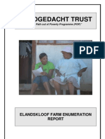 Elandskloof Enumeration Report, Dec 2008