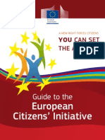 Guide to the European Citizen's Initiative