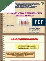 Comunicacion Organizacional. Expo.22!2!13 CARLOS