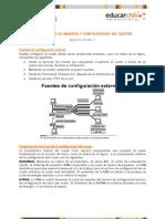 Componentes de Memoria y Configuracion Del Router