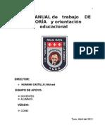 Plan Anual de Tutoria y o.e.-2011