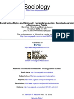 Contructing Rights and Wrongs in Humanitarian Actions
