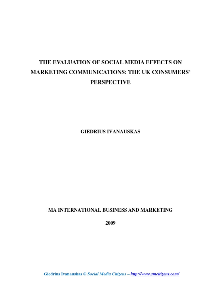Social media in the uk ma dissertation cover letter for experienced hire