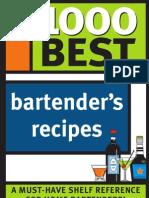 1000 Best Bartenders Recipes