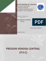 Presion Venosa Central (PVC)