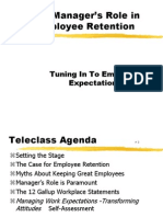 Increase Retention rate