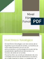 Nivel Fonico-Fonologico