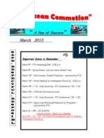 March Newsletter 2012-13