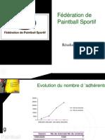 FédéRation de Paintball Sportif RéSultats Statistiques Evolution Du Nombre