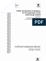 GAME Development of Guidance