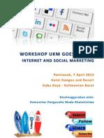 Proposal Workshop Ukm Goes Online 2013
