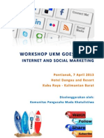 Proposal Workshop Ukm Goes Online 2013