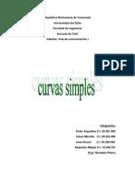 Informe de Curvas Simples