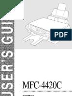 Manual for MFC 4420C Epson Printer