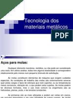 Aula 12 - Tecnologia dos materiais metálicos