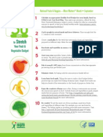 30 Ways to Stretch Food Value Budget