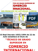 COMERCIO INTERNACIONAL - IES PRINCIPE DE ASTURIAS