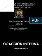 Coaccion Interna