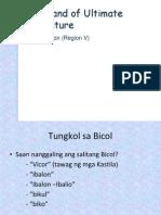 Bicol Presentation
