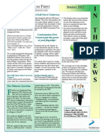 Spring 2012 Newsletter - External