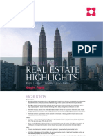 Real Estate Highlights 2H2012 - Malaysia