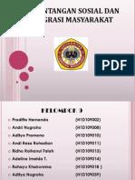 PERTENTANGAN SOSIAL DAN INTEGRASI MASYARAKAT.pptx