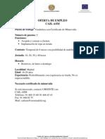 Ofertas de empleo Febrero-Marzo 2009